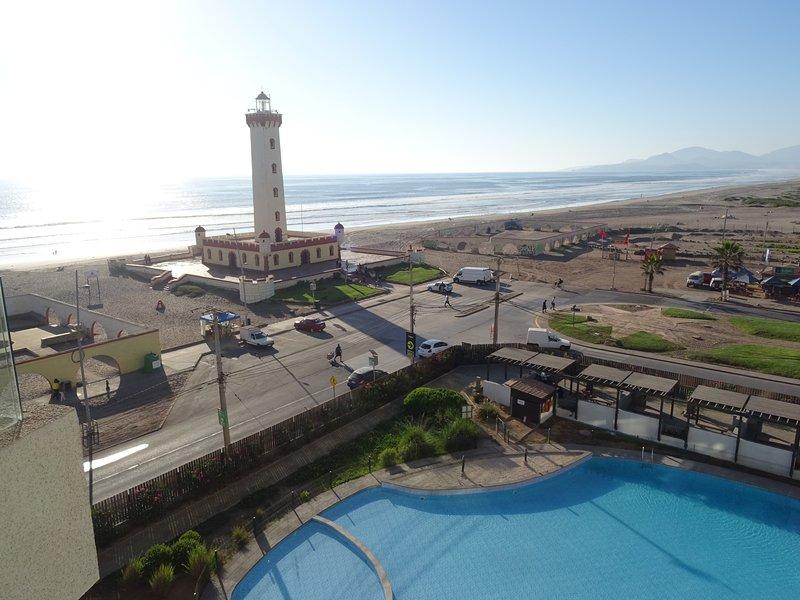 Departamento 722 Vista Frontal al Mar, location de vacances à La Serena