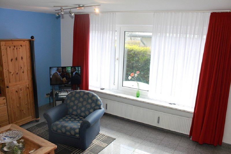 Nice apt with sea view & terrace, vacation rental in Westerland