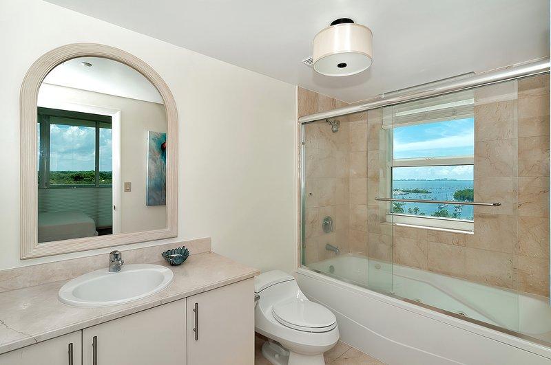 Que diriez-vous d'une douche avec une vue?