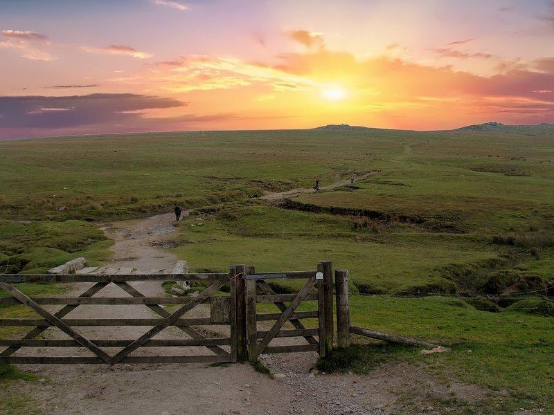 An evening walk on Roughtor