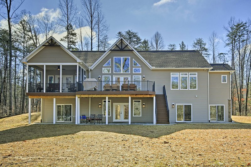 This home accommodates up to 18-24 guests with 6 spacious bedrooms and 4.5 baths