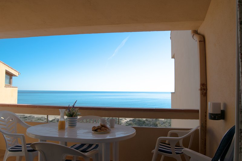 terrace with sea views-SA PUNTA COSTA BRAVA