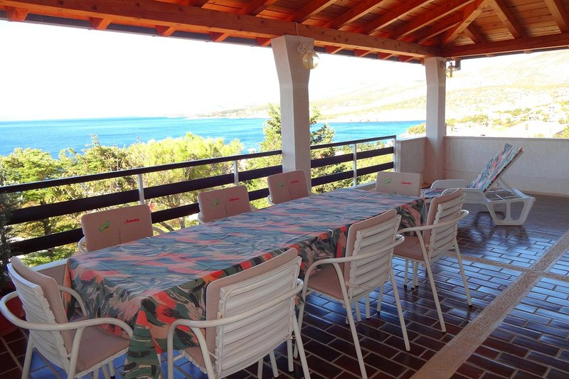 Klenovica Apartment Sleeps 4 with Pool and Air Con - 5464503, vacation rental in Klenovica