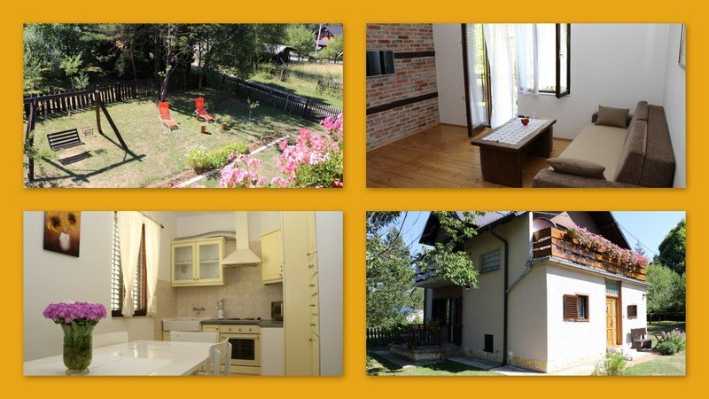HOLIDAY HOME 'IRIS' NEAR PLITVICE LAKES, vacation rental in Plitvice Lakes National Park