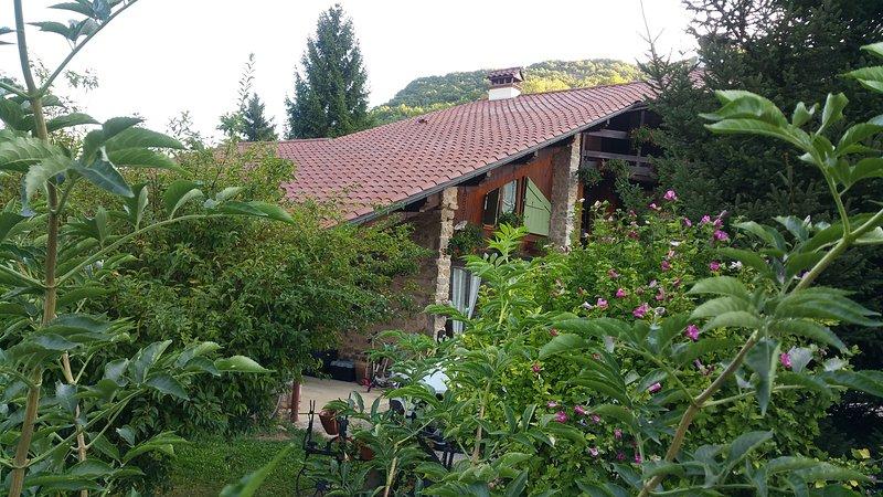 Gîte à la campagne avec piscine au calme, location de vacances à Saint-Baudille-de-la-Tour