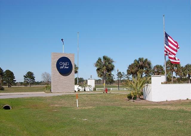 One Club of Gulf Shores Entrada da Hwy 59