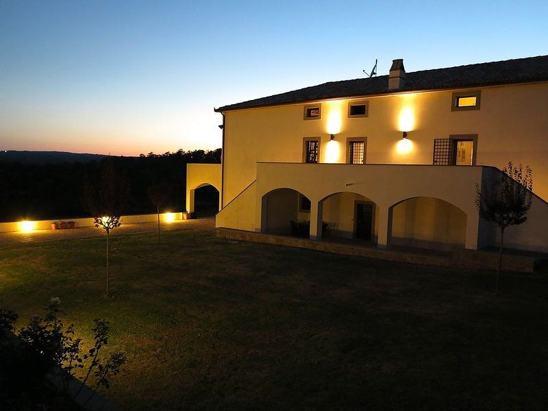 Enjoy complete peace and quiet and perfect sunrises and sunsets from the grounds