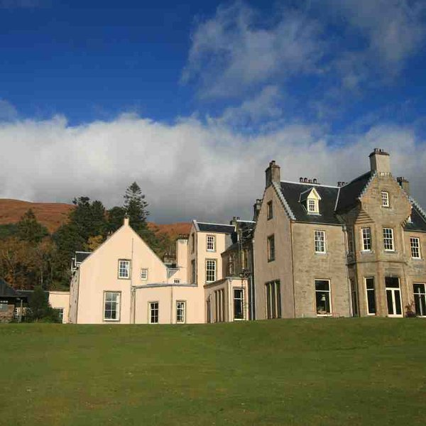 In offerta è questa grande casa vacanza nella costa occidentale della Scozia