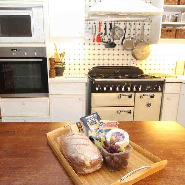 La cuisine a été conçue avec le cuisinier moderne à l'esprit