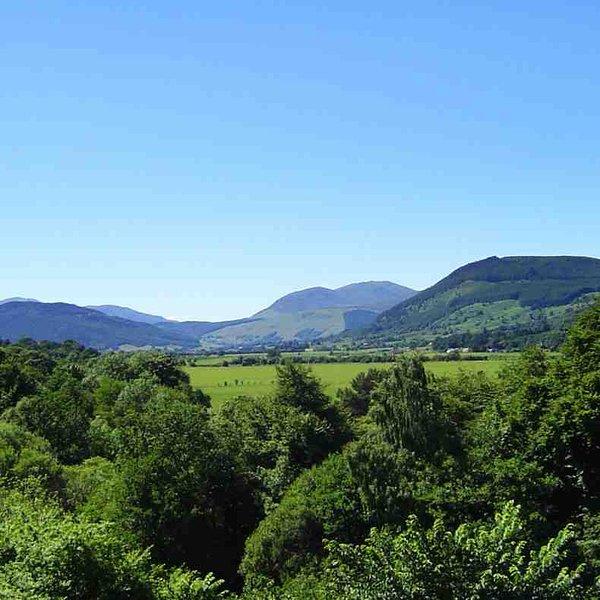 vues magnifiques longues près de Aberfeldy