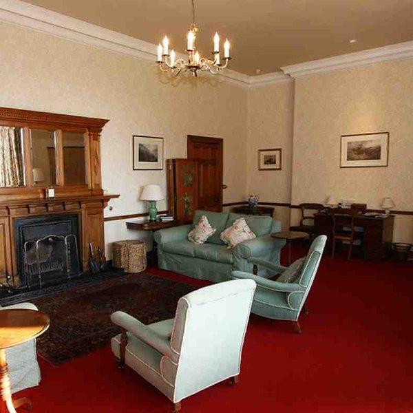 A sala de estar - um outro ângulo