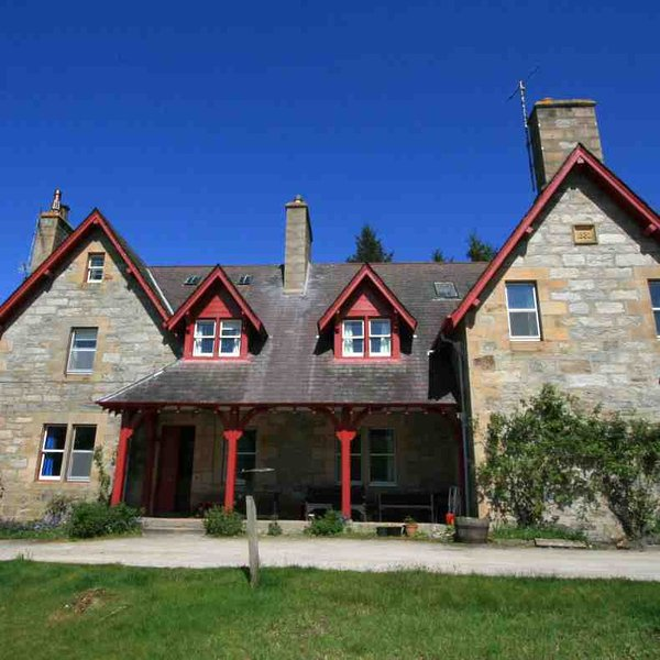 This holiday house is perfect to explore the north of Scotland