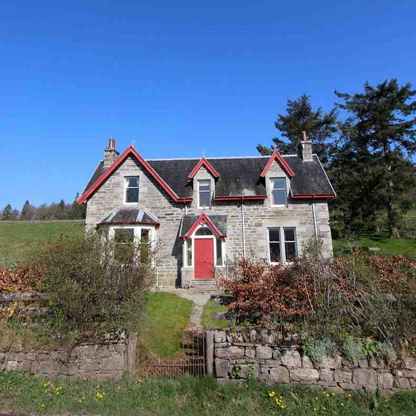 Explore the Cairngorms and Speyside from this holiday house