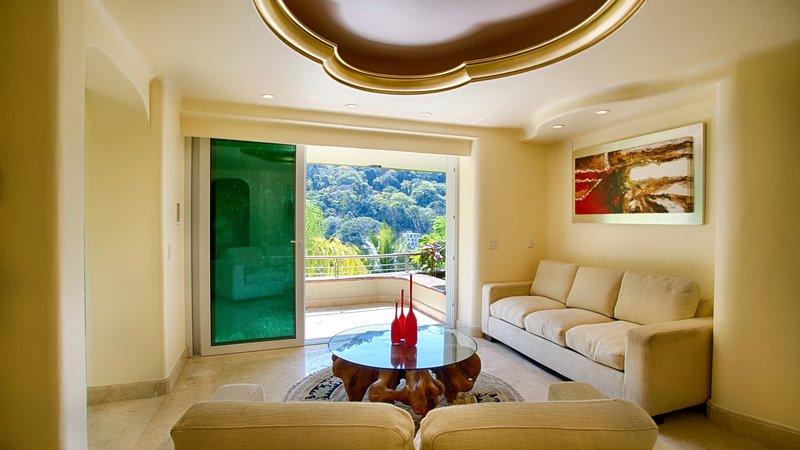 Luxury Suite with Garden and Ocean view, alquiler de vacaciones en Cabo Corrientes