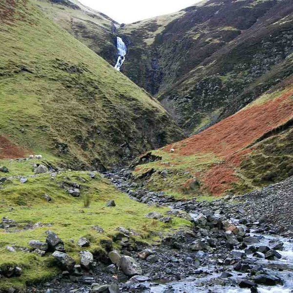 'Grey Mare's Tail' is the fifth highest waterfall in the UK