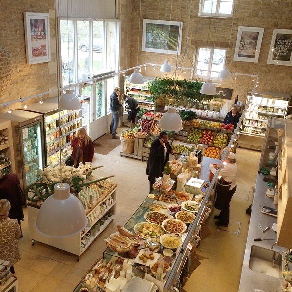 Quality gifts & organic products at nearby Daylesford