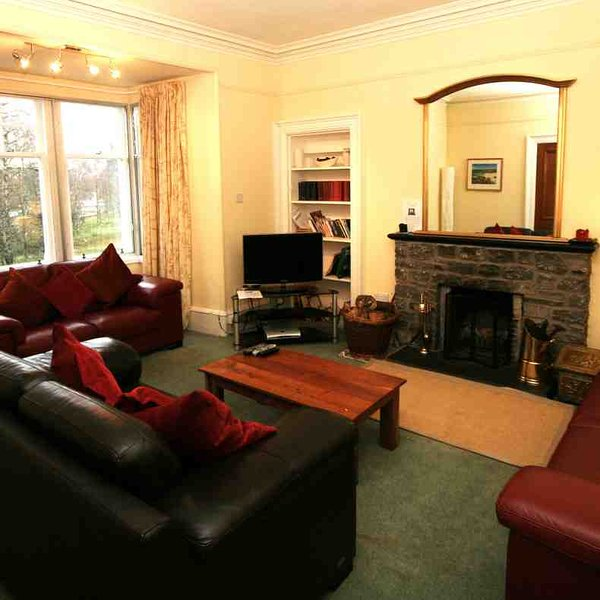 The sitting room is a great size for all the family