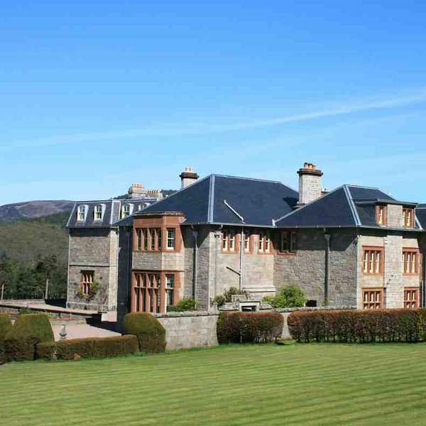 A Highland lodge of distinction in Royal Deeside