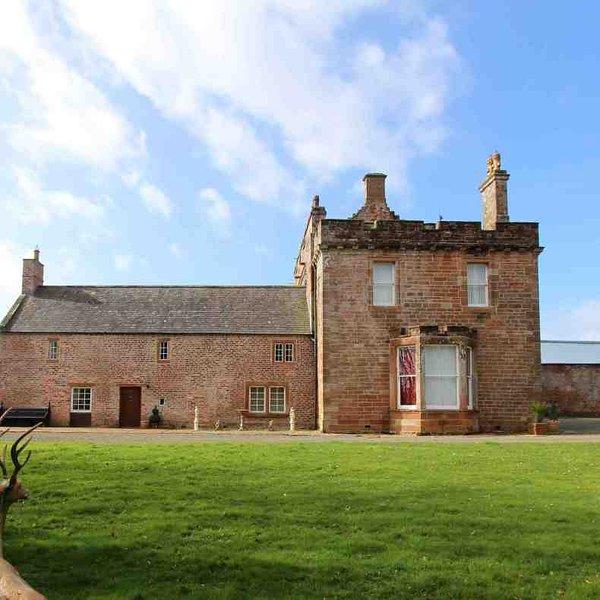 Bienvenue dans ce château écossais dans le nord de l'Angleterre