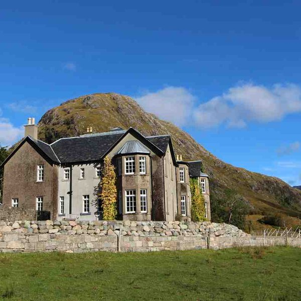 Fine holiday house in the Highlands of Scotland