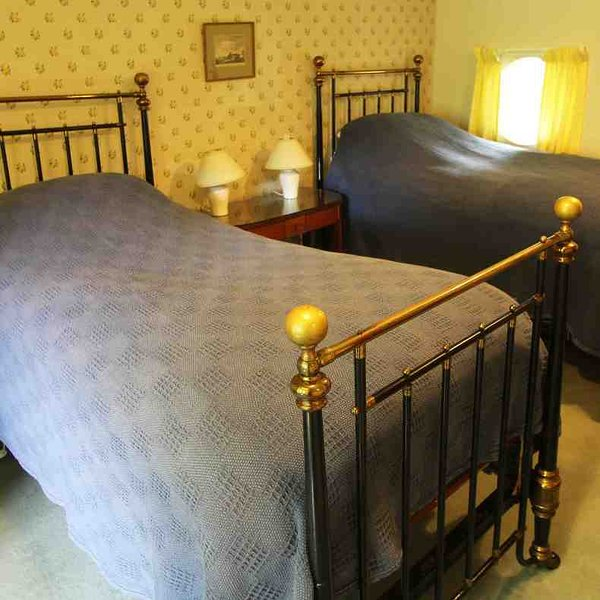 Room 4 is a lovely twin-bedded room