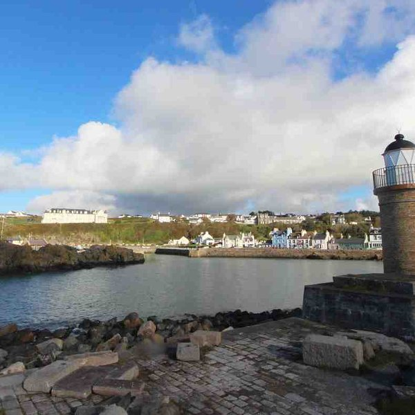 A trip to Portpatrick to look across to Northern Ireland