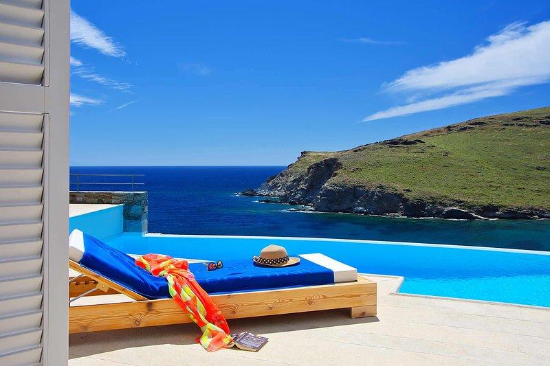 Villa BluEros, vacation rental in Poseidonia