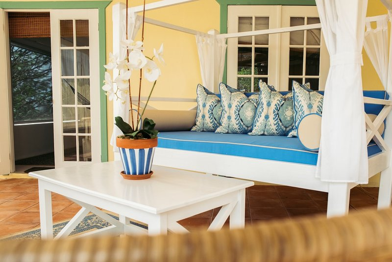 Frangipani Garden Apartment (Carriacou), alquiler de vacaciones en Hillsborough
