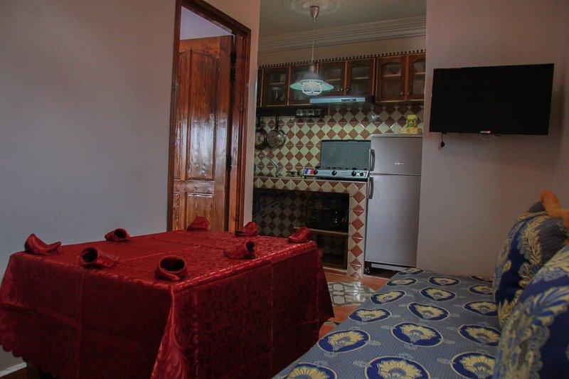 Appartement 1 - Le Gite de SidiRbat, vacation rental in Sidi R'bat