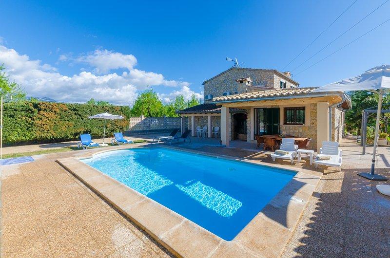 CAN ANTICH - Villa for 7 people in LLOSETA, holiday rental in Lloseta