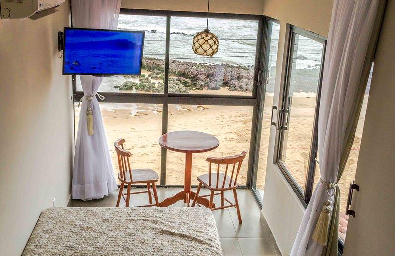 SuRFCoRe House - Casa 'Pé na Areia' em Baía Formosa (RN), alquiler de vacaciones en Estado de Río Grande del Norte