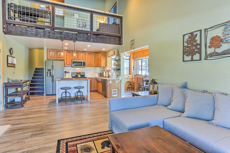 Runaway to the mountains to stay at this Truckee condo!