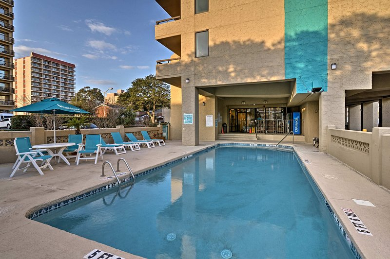 Enjoy the best of Myrtle Beach at this 1-bed, 1.5-bath vacation rental condo!
