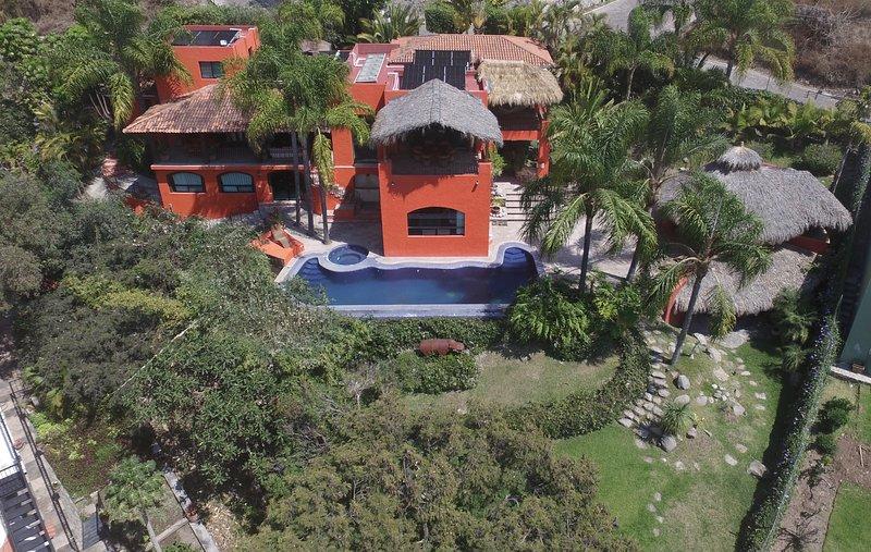 Vista aérea Villa Garza