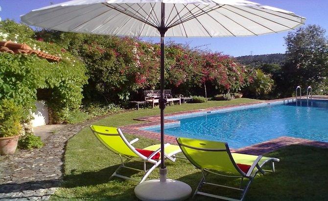 Villa de Charme avec grand jardin, piscine et piano près de Coimbra – semesterbostad i Coimbra