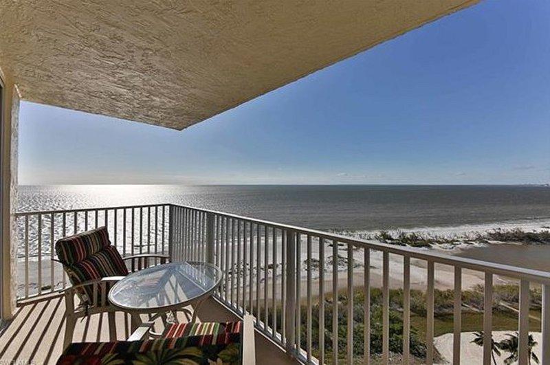 Vista diretta sulla spiaggia. 260 gradi di Fort Myers Beach! Stupefacente!
