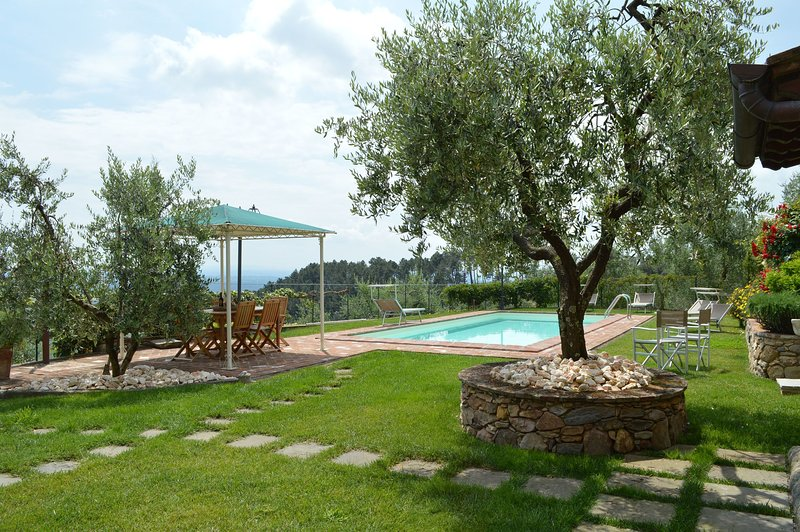 Dogana di Tiglio Villa Sleeps 6 with Pool - 5696038, holiday rental in Galleno