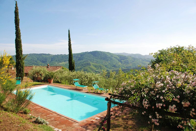 San Martino in Freddana-Monsagrati Villa Sleeps 10 with Pool - 5696002, aluguéis de temporada em Torcigliano