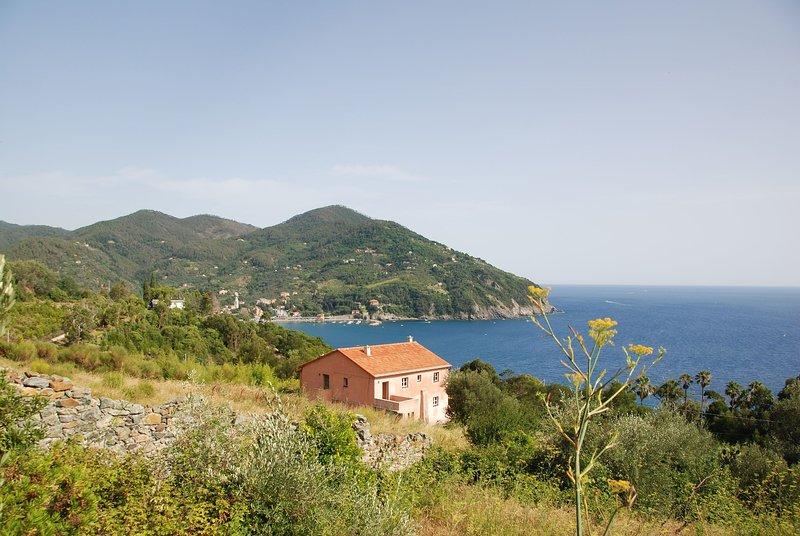 Valle Santa Villa Sleeps 11 with WiFi - 5696029, holiday rental in Bonassola
