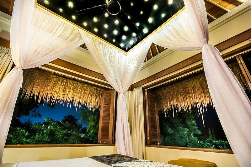 Romantisch paviljoen suite, met 180 graden uitzicht op de bergen en te zien