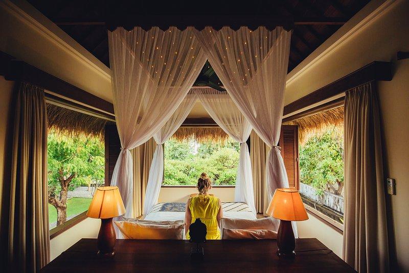 Paviljoen suite op de top van de eetzaal