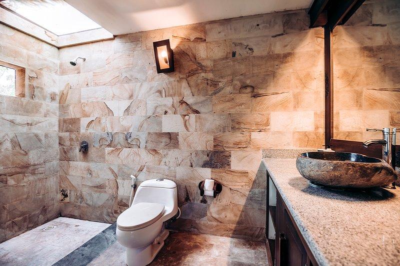 Badkamer van het paviljoen suite
