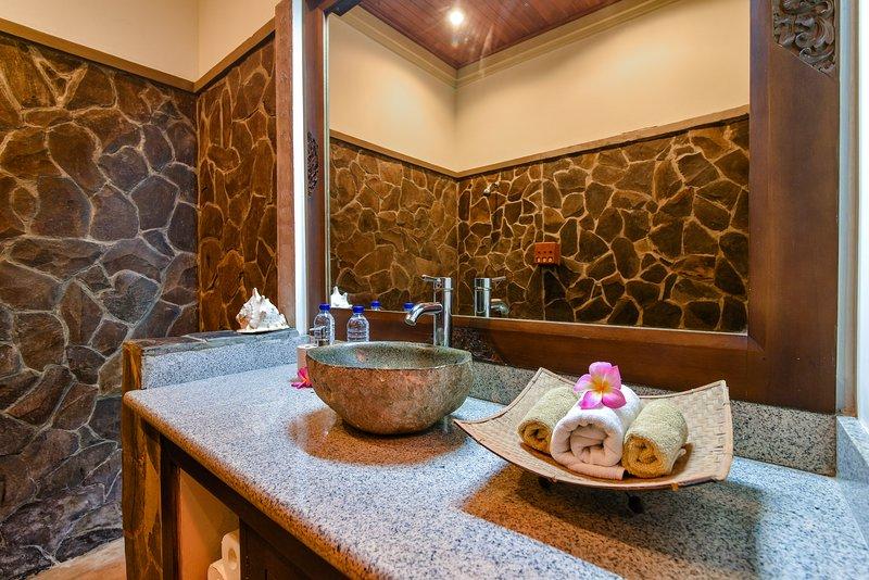 Inpandige badkamer tuinsuite