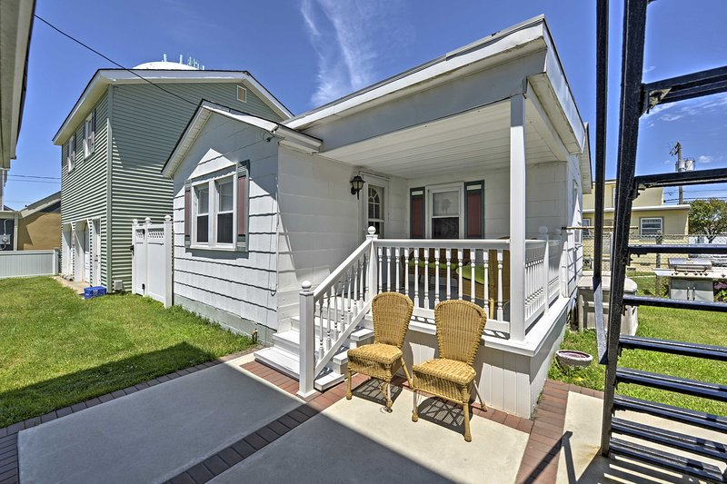 Discover your next beach destination at this Wildwood vacation rental cottage!