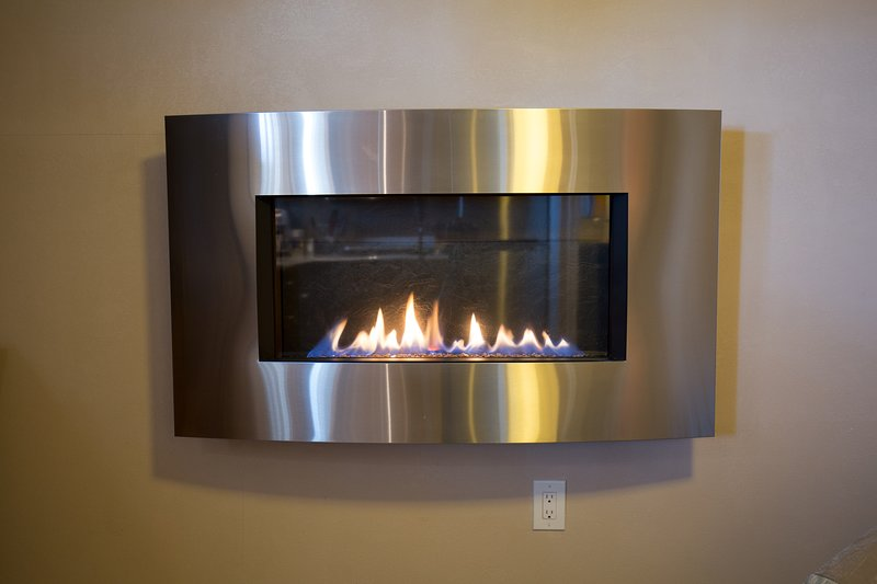 Wall Mounted Remote controlled Gas Fireplace is the heater for the house