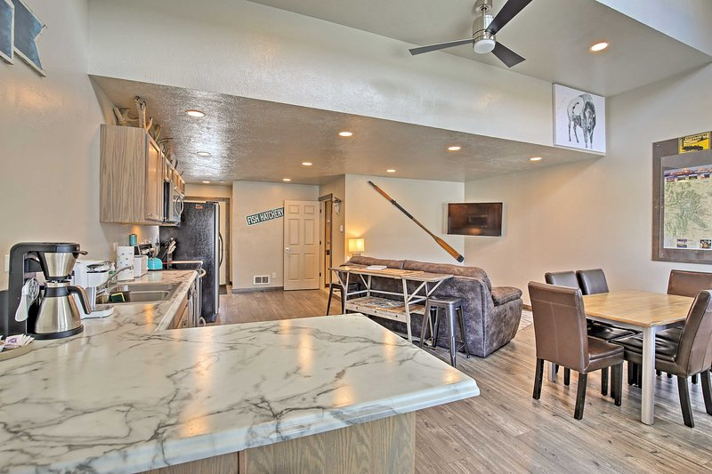 This home boasts 1 bedroom and 1 bathroom.