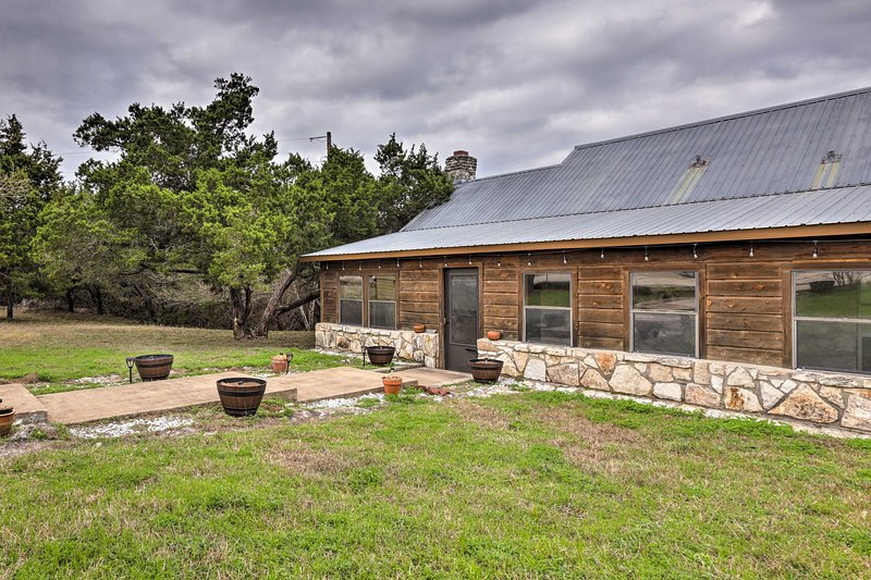 Book your next relaxing country getaway to this remodeled Dripping Springs home!