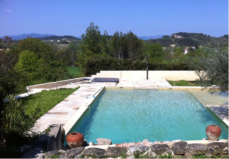 swimming overlooking the Cevennes