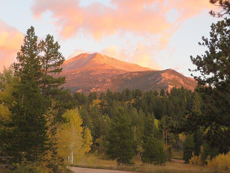 Cenário bonito da montanha