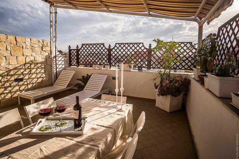 exclusive terrace